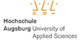 Hochschule für angewandte Wissenschaften Fachhochschule Augsburg